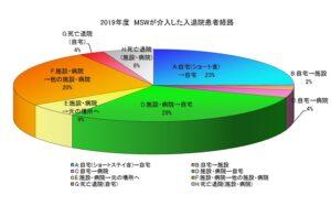 2019MSW介入入退院患者経路グラフ